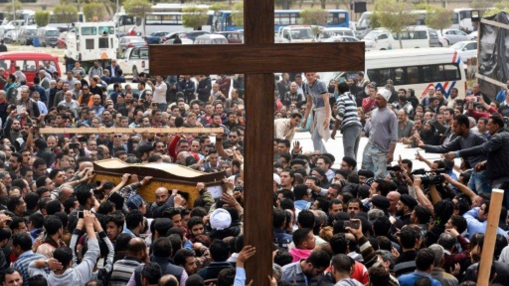 Attack on Egypt Christians kills 24