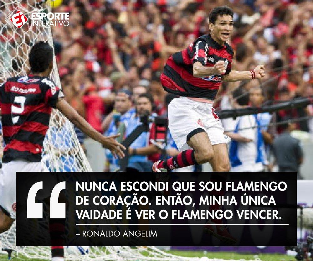 Um ídolo chamado Ronaldo Angelim! Dá saudades na torcida do @Flamengo?