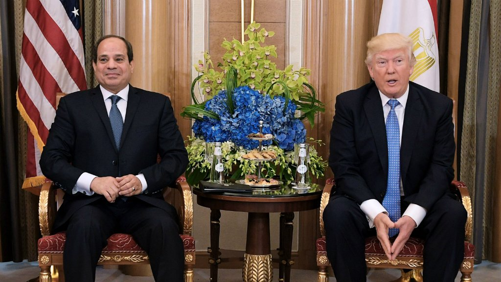 Egypt's Sisi finds freedom to repress in the era of Trump