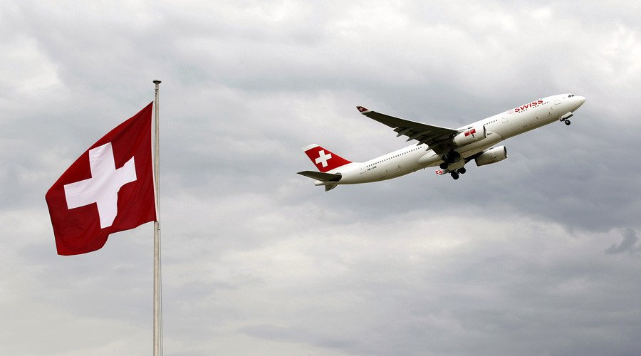 Close call: Swiss plane narrowly dodges drone collision