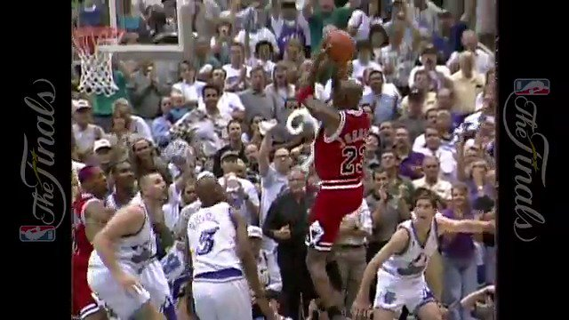 """Never forget MJ's """"Flu Game"""" in Game 5 of the #NBAFinals."""