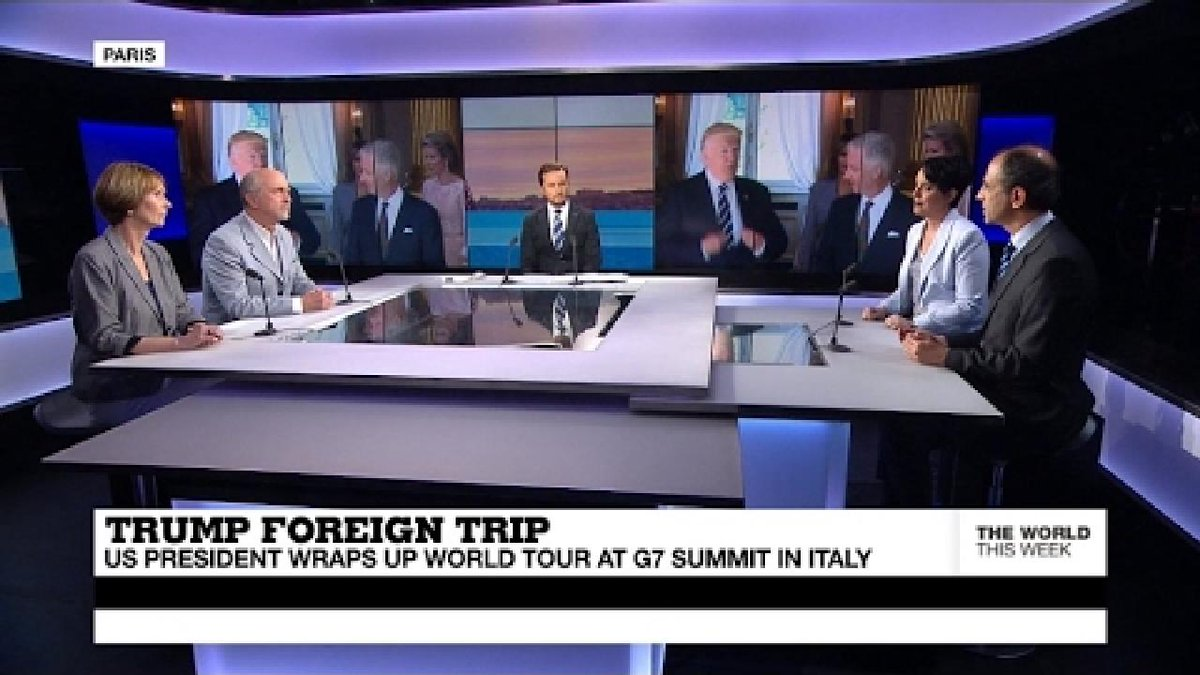 ?? US President wraps up world tour in Italy (Part 1)