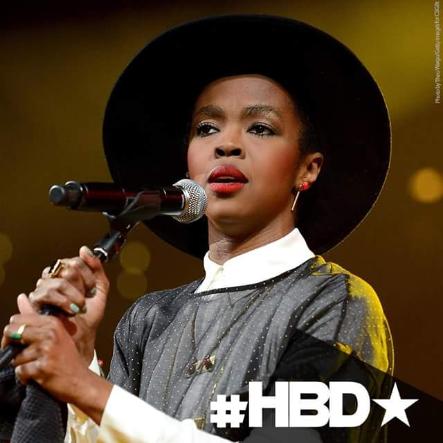 Happy birthday to the Queen! L-Boogy! Miss Lauryn Hill    Thank you for the music Mama