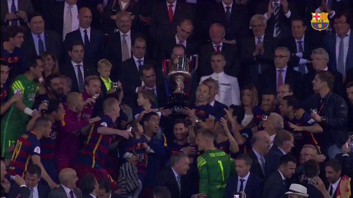 🎥 FC Barcelona - Alavés El Rey de Copas quiere más 👉 #CopaFCB 🔵🔴 #ForçaBarça
