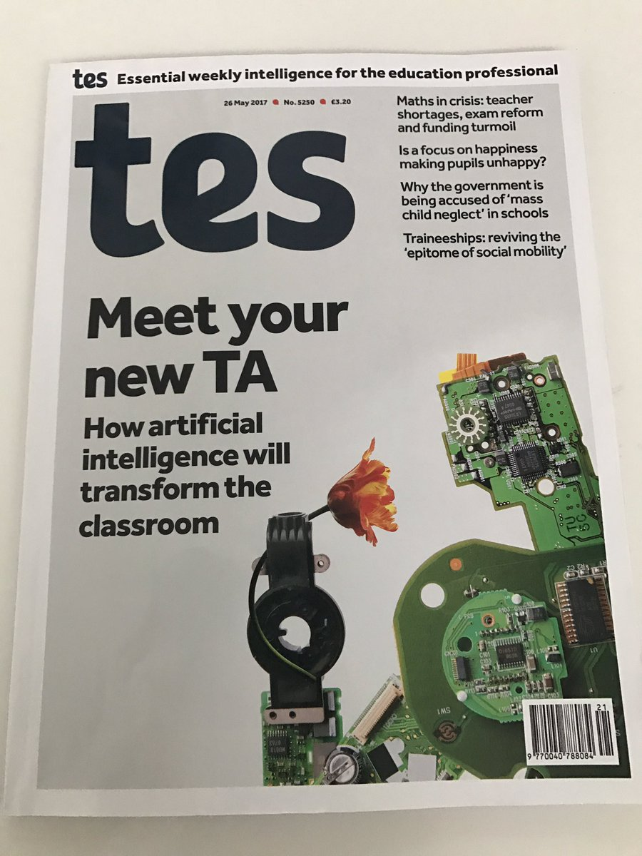test Twitter Media - CENTURY featured in TES this week - front cover gives you an idea of what it's about ;) https://t.co/FTFJWdmSoF #education #ai #ukedchat https://t.co/m2kNHOS3SD