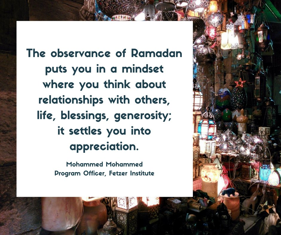 Blessings to those around the world beginning the observance of Ramadan. https://t.co/Sxrk2P5Sgz