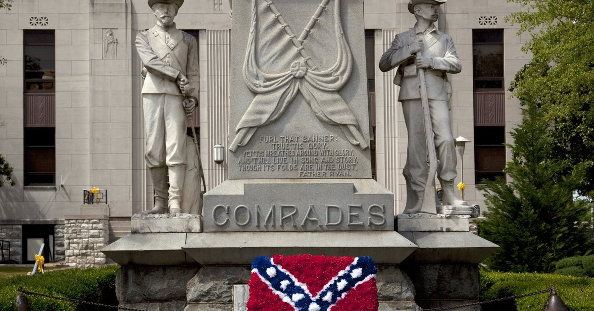 It's now illegal in Alabama to remove Confederate monuments
