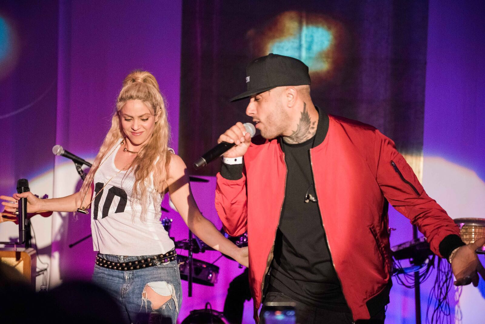 Had a great time onstage with @NickyJamPR and @PrinceRoyce last night at the El Dorado launch. What an honor! Shak https://t.co/uK8T10E6ui