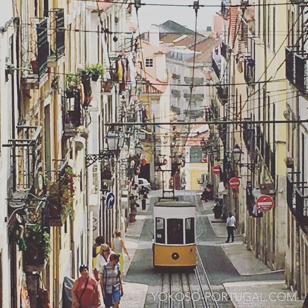test ツイッターメディア - 人気ナンバーワン、リスボンのケーブルカー・ビカ線。 #リスボン #ポルトガル https://t.co/fzaP9MOnNk