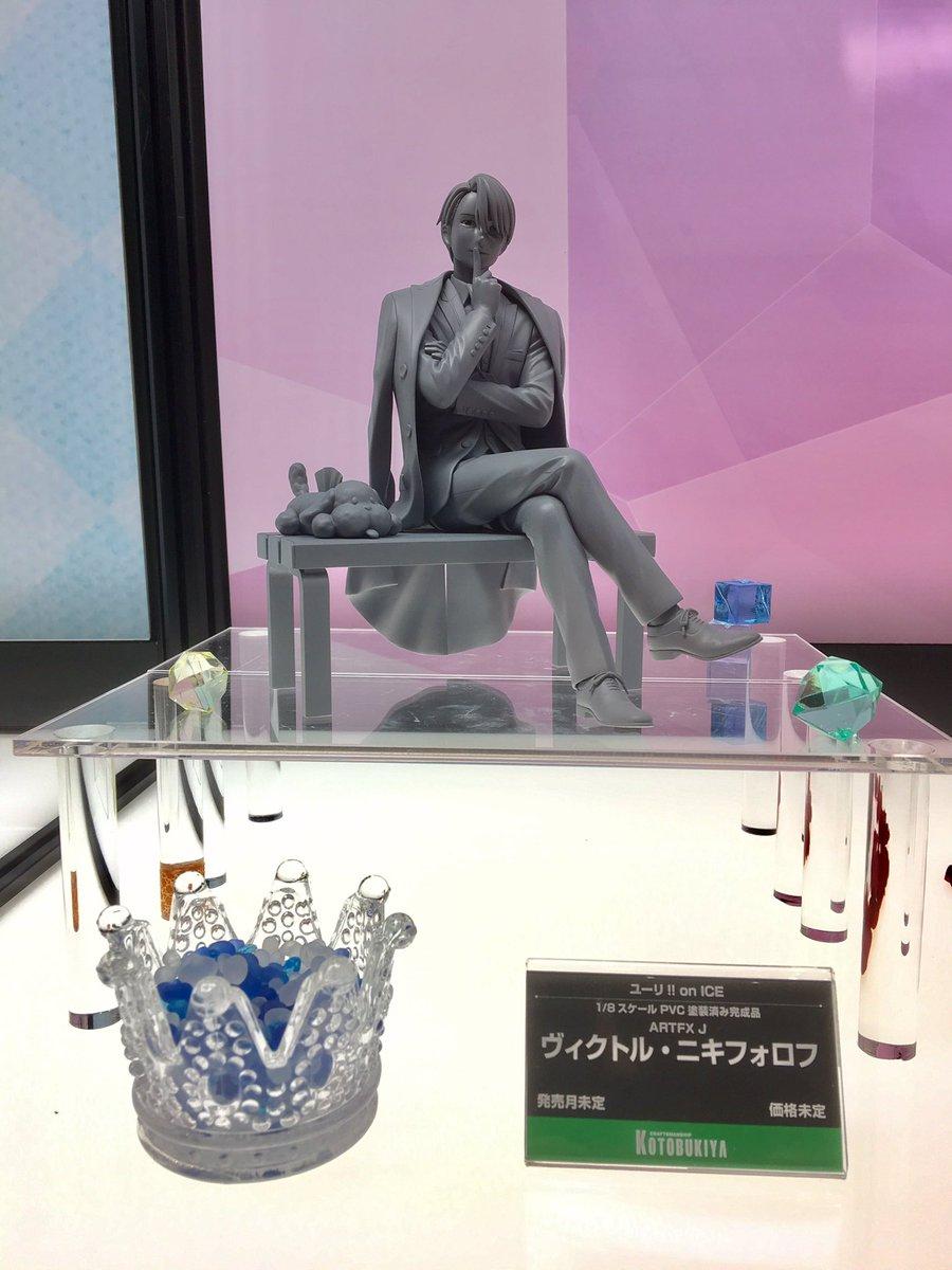 【展示物③】1/8スケール PVC 塗装済み完成品『ユーリ!!! on ICE』より「ARTFX J ヴィクトル・ニキフ