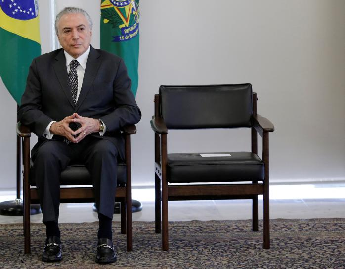 Allies of Brazil's Temer prepare for 'the day after'