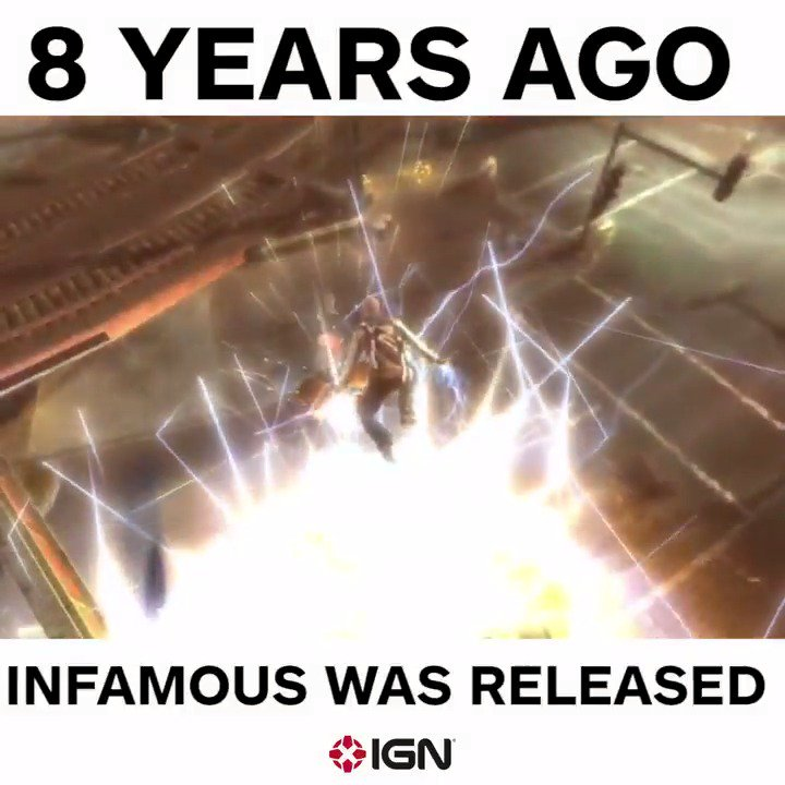 ICYMI We can't believe it's been 8 years since #Infamous came out!