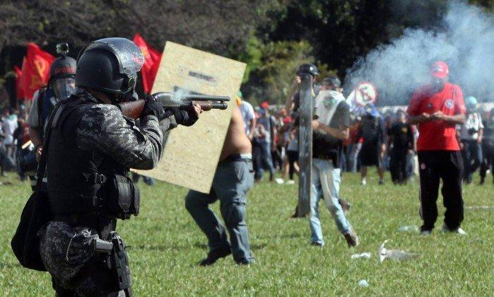 Brasil repudia críticas da ONU e CIDH sobre ação da polícia em manifestação.