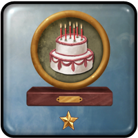 Sandra Wethington completed the achievement and received rewards Happy Birthday!
