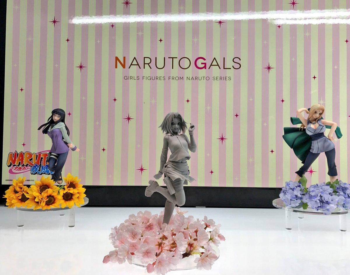 【#メガホビEXPO】NARUTOギャルズ第3弾「春野サクラ」商品化決定&原型初展示!元気で明るいサクラちゃんら