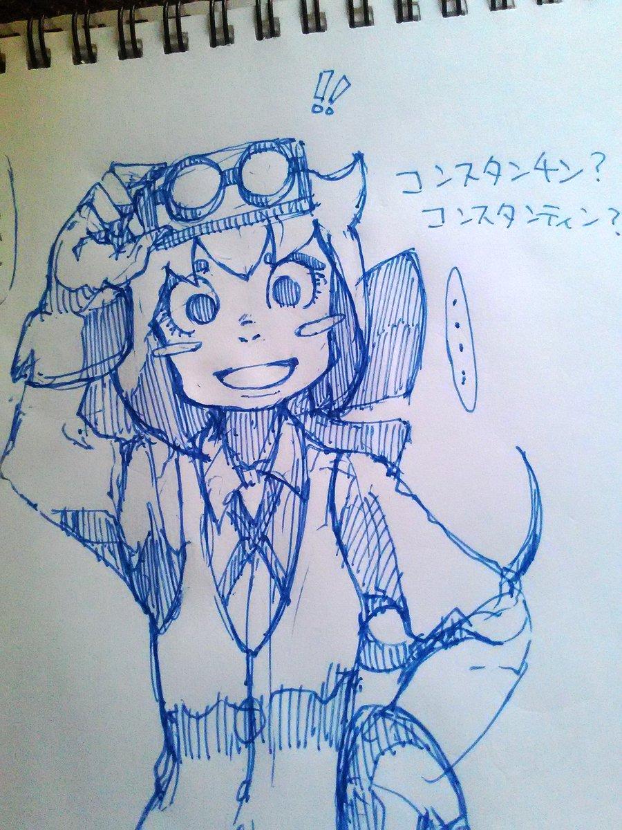 声優さん誰なんや?#リトルウィッチアカデミア #絵描きさんと繋がりたい #LWA_jp