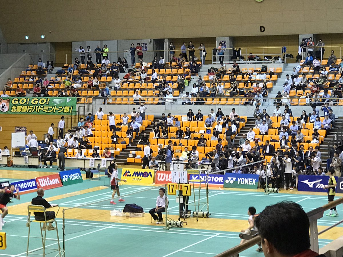 test ツイッターメディア - 桃田賢斗の復帰戦のカメラの数すごい。。。 https://t.co/34qE8mdx3u
