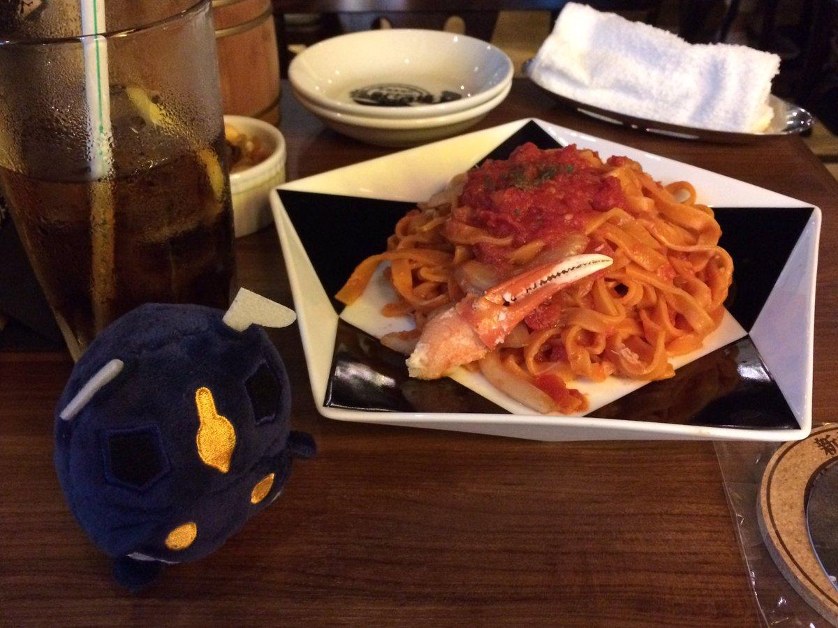 お料理キタキタw。(´ω`)#怪獣酒場#新橋蒸溜所