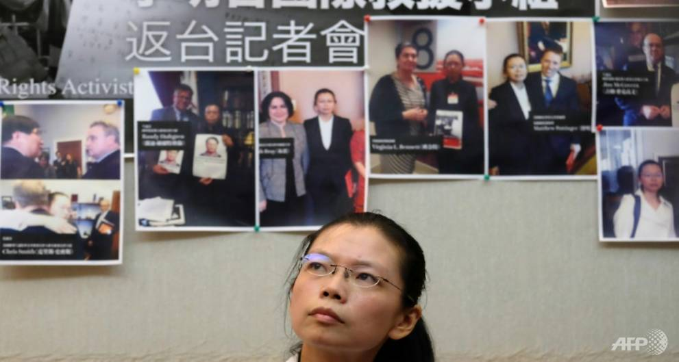 China arrests Taiwanese activist for 'subversion'