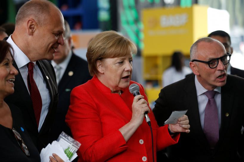 Germany's Merkel says digital world needs global rules