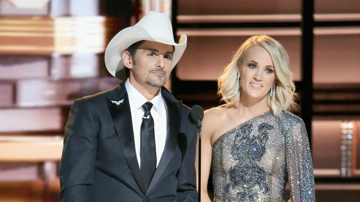 Carrie Underwood and Brad Paisley to host CMA Awards for 10th straight year