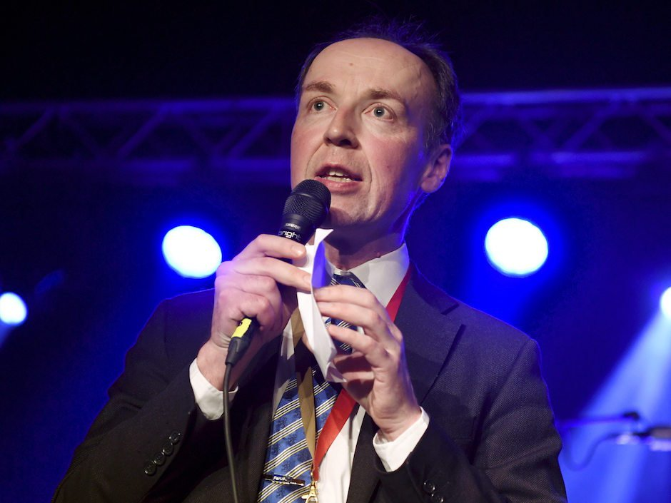 Immigration hardliner Jussi Halla-aho elected to lead Finland's populist Finns Party