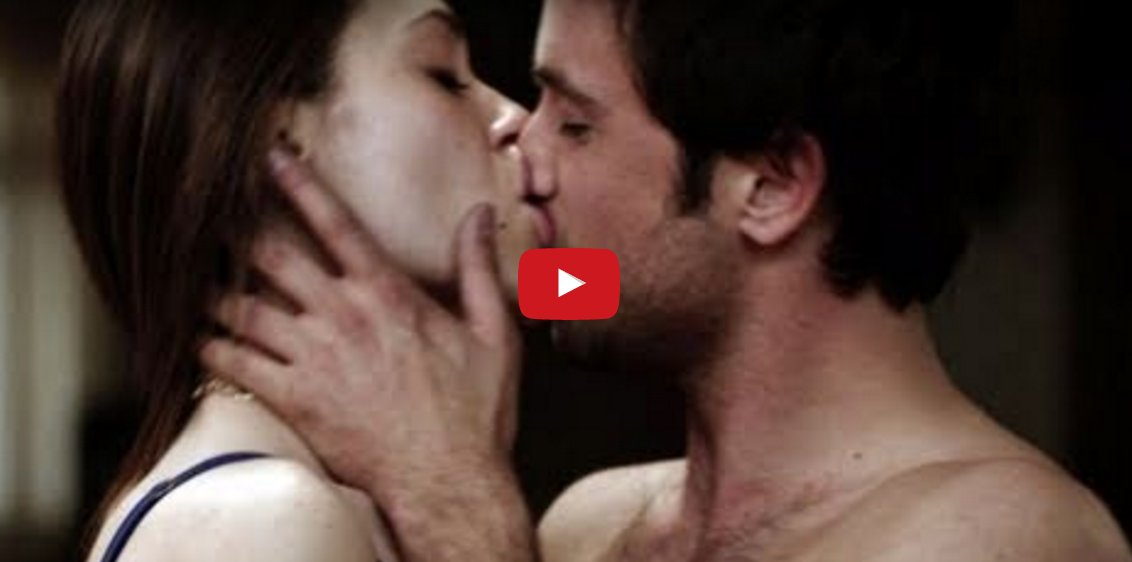 Kiss lips bare women