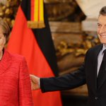 Merkel in Argentina to talk Trump, trade and climate change