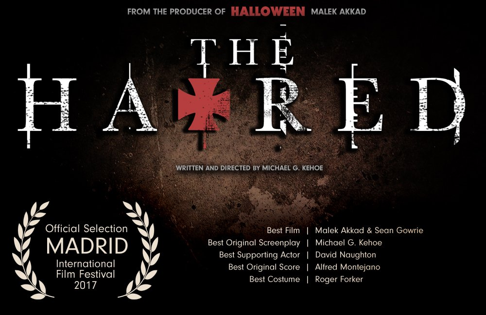 We're excited to announce that #TheHatred has been selected into competition by Madrid International Film Festival @FilmFestInt @MikeyKehoe https://t.co/n1twmye4lw