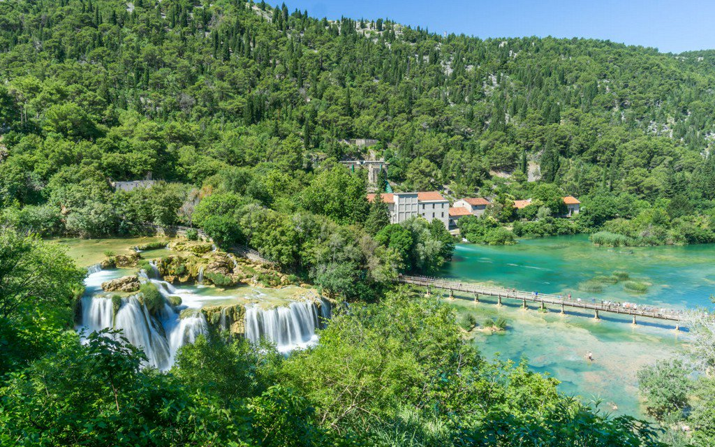Why people are flocking to this waterfall in Croatia