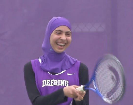 Maine high school is apparently first in U.S. to get sports hijabs