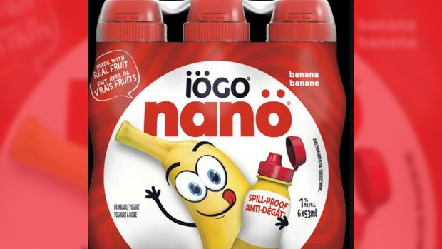 Canada-wide recall for iogo yogurt products over possible pieces of plastic