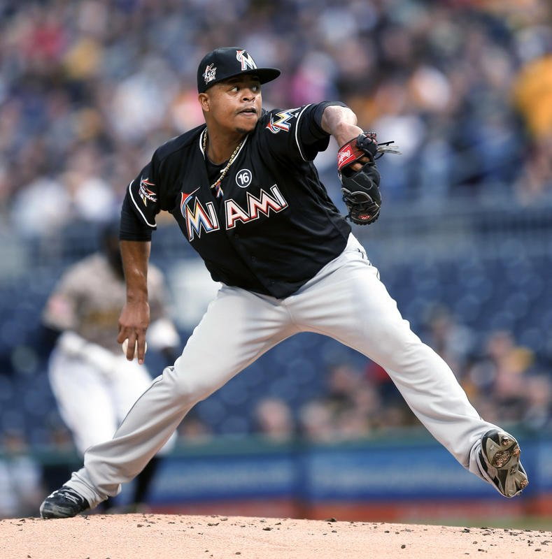 Marlins' Volquez follows no-hitter with 7 scoreless innings