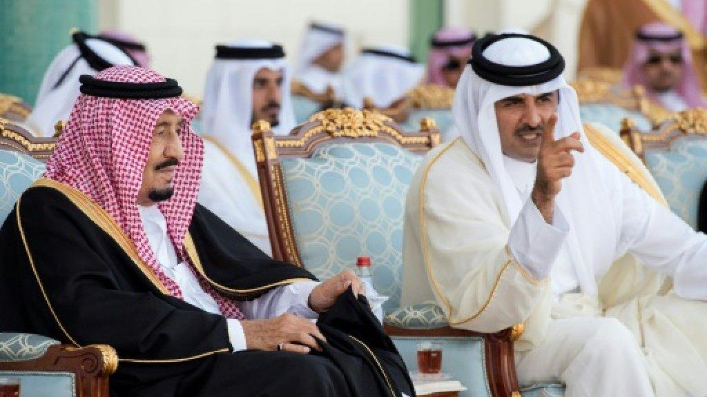 Saudi, allies issue Qatar-linked 'terrorism' list
