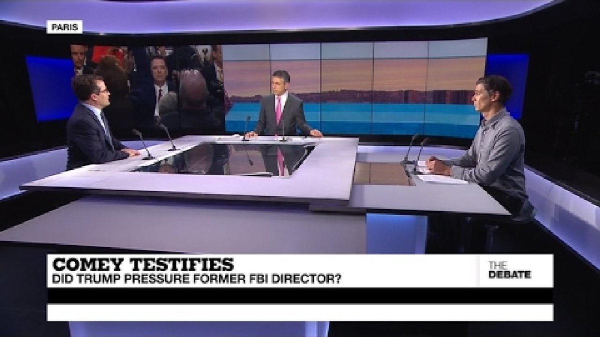 ?? Comey Testifies: Did Trump pressure former FBI director? (part 1)
