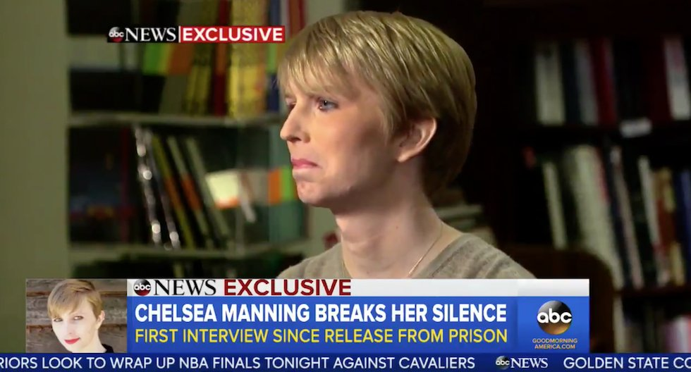 "Chelsea Manning breaks silence and thanks Obama ""I was given a chance"""