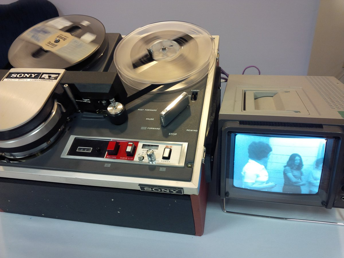 "test Twitter Media - Today we celebrate International Archives Day - here's a working 1/2"" EIAJ Video machine on display at ACA Ottawa #ACA2017 #IAD17 https://t.co/5CsFnmYErD"