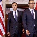 Morneau to talk trade, taxes with Trump Treasury Secretary Mnuchin in Ottawa