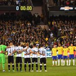 Lionel Messi leads minute's silence for London terror attack victims as Brazil and Argentina pay tribute in Melbourne