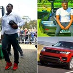 Kenyan footballers flaunt their expensive cars and Kenyans can't stop talking