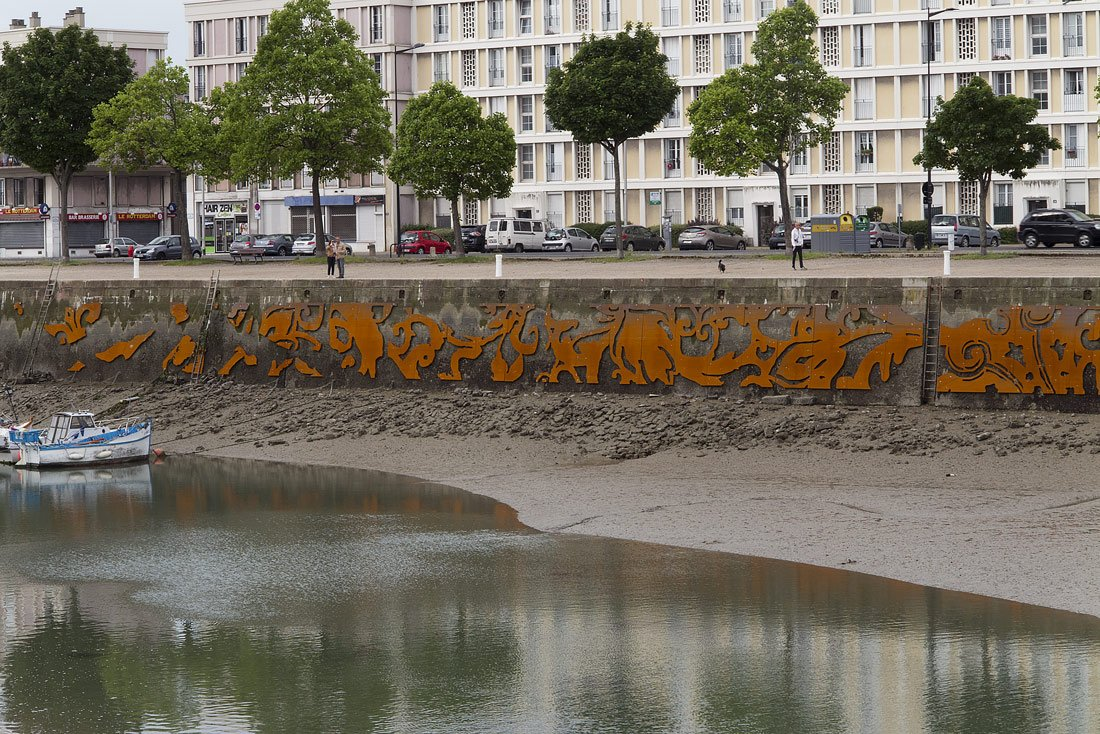 "Baptiste Debombourg's ""Jardins fantômes"" is a public commission in occasion of the 500th anniversary of the city of Le Havre https://t.co/r7sYmTxtY2"