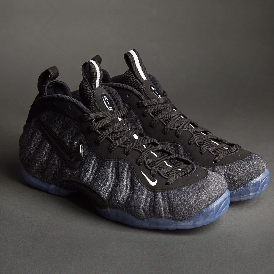 122924e77e3 closeout nike air foamposite footlocker 77887 9b168  germany stayin real  cozy. the tech fleece nike air foamposite pro is on sale now