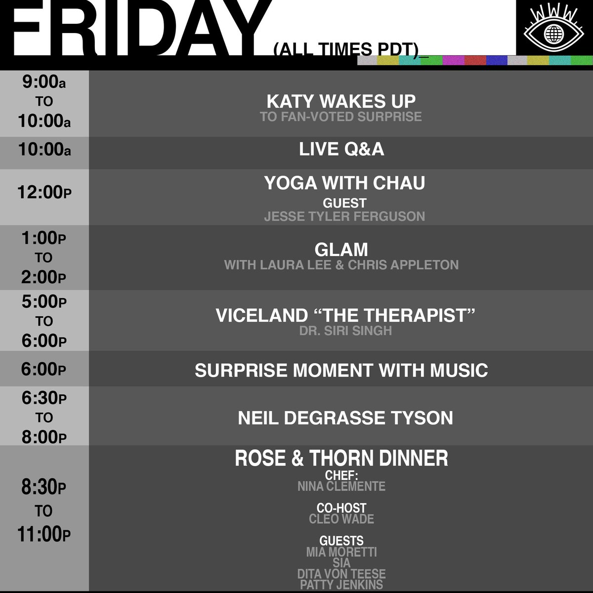 Today on #KPWWW https://t.co/EJOsFazFtu -Team Katy https://t.co/UBh9v7EEgL