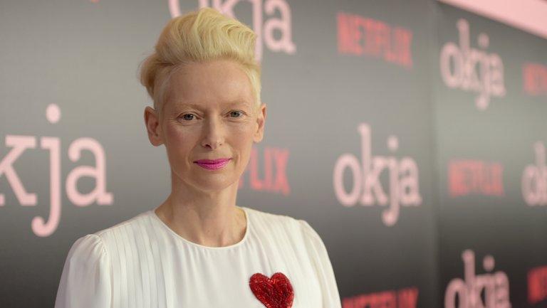 Tilda Swinton, Brad Pitt fete Netflix's Okja at meat-free NYC premiere
