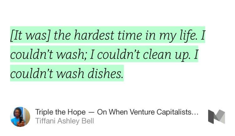"""Triple the Hope — When Venture Capitalists Pay Water Bills"" by @tiffani https://t.co/ArjicSFe2X https://t.co/5EbpRjcmNh"