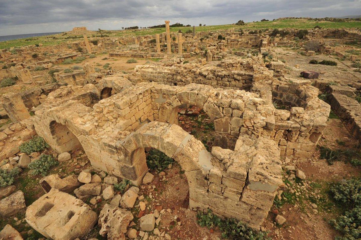 Beautifully preserved Roman ruins in Libya hide ancient treasure