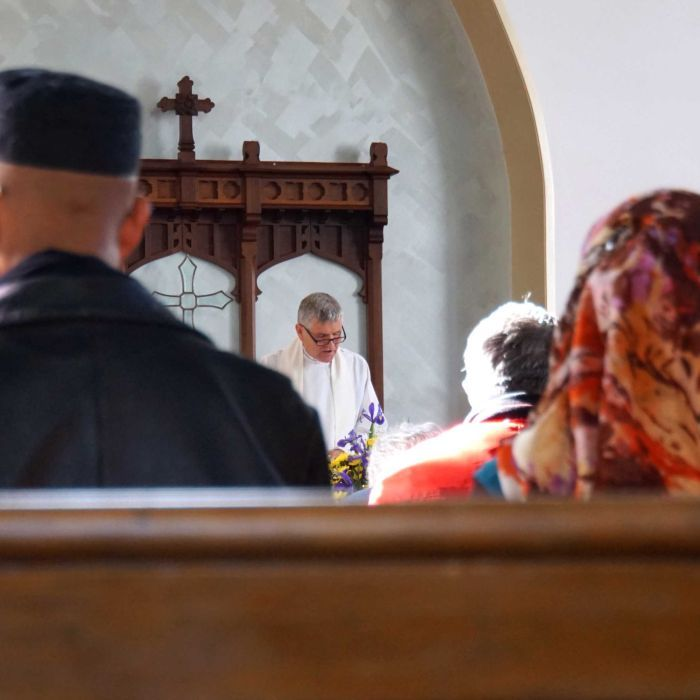 Christians and Muslims worship together during Ramadan