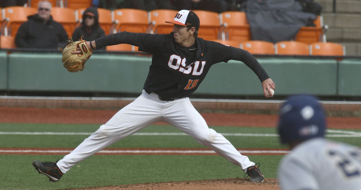 Amid controversy, Luke Heimlich excuses himself from Oregon State baseball