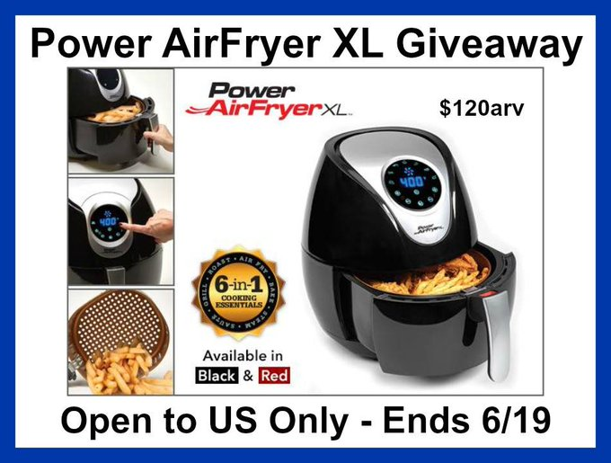 Power AirFryer Giveaway