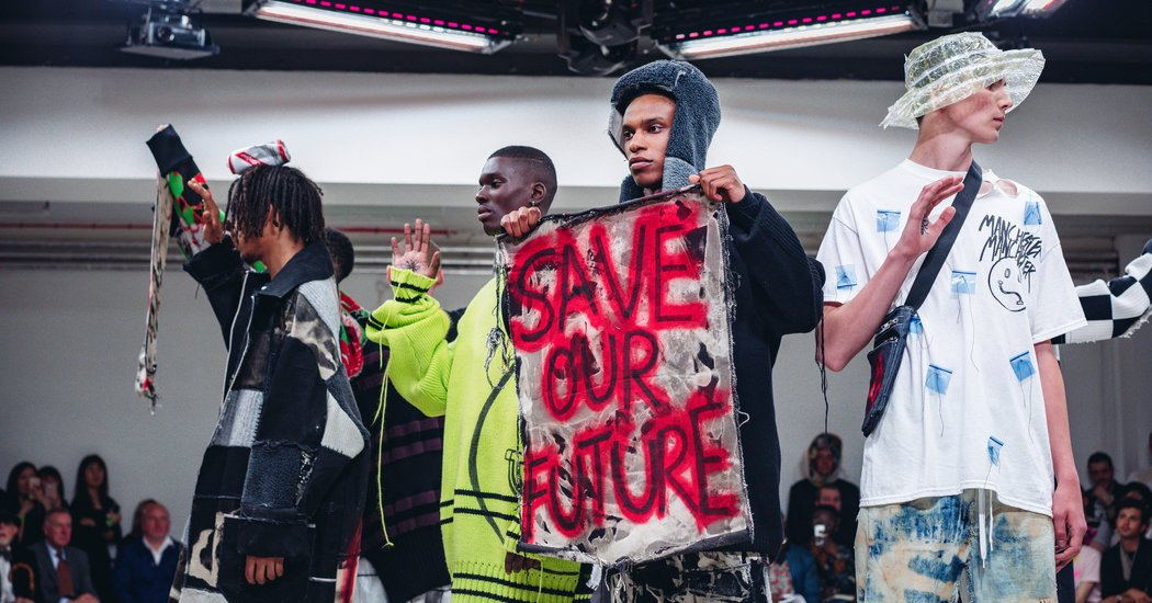 Youth, Beauty and Politics at a Student Fashion Show in London